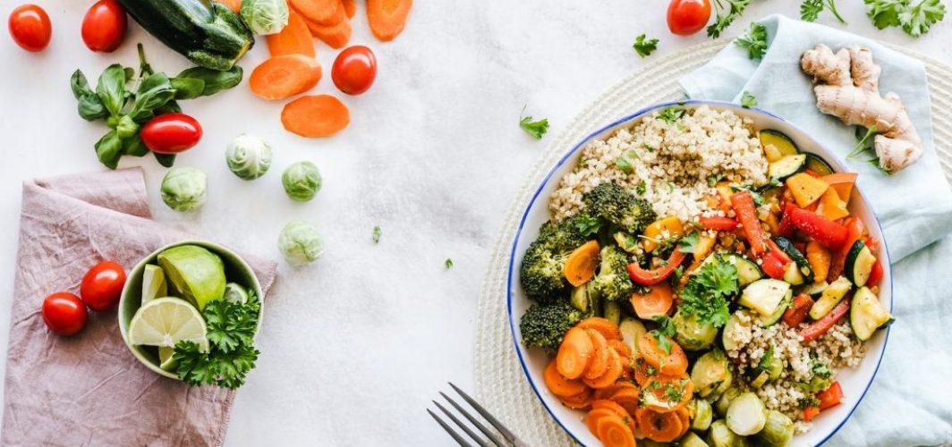 garden-inspired recipe for salad